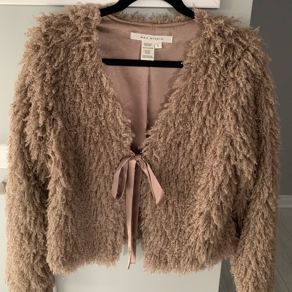 Max Studio Jackets & Blazers - Faux fur coat